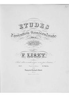 Études d'exécution transcendante, S.139: No.1-7 by Franz Liszt