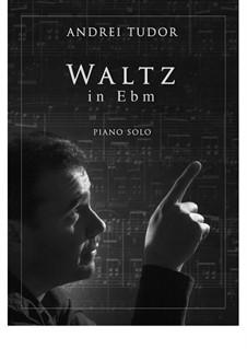 3 Pieces for Piano: Waltz in E flat minor by Andrei Tudor