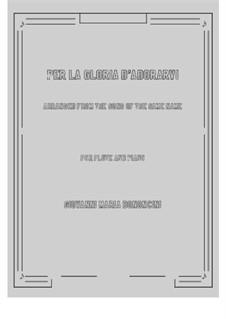 Deh più a me non v'ascondete: For flute and piano by Giovanni Maria Bononcini