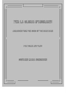 Deh più a me non v'ascondete: For violin and piano by Giovanni Maria Bononcini