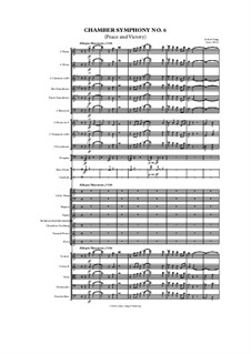 Chamber Symphony No.6 (Peace and Victory): Chamber Symphony No.6 (Peace and Victory) by Jordan Grigg