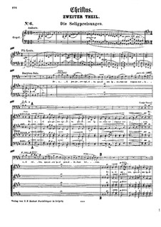Christus, S.3: Act II by Franz Liszt