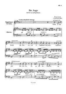 Nimm einen Strahl der Sonne, S.310: Klavierauszug mit Singstimmen by Franz Liszt