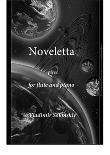 Noveletta: For flute and piano by Vladimir Solonskiy