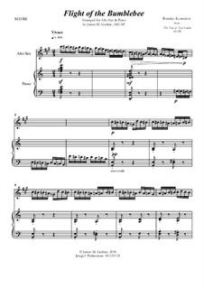 Flight of the Bumblebee: For Alto Sax & Piano by Nikolai Rimsky-Korsakov