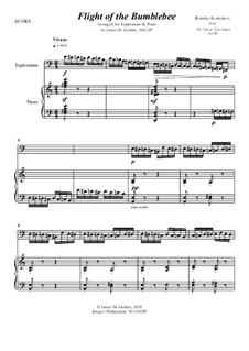 Flight of the Bumblebee: For Euphonium & Piano by Nikolai Rimsky-Korsakov