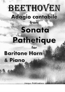 Movement II: For Baritone Horn & Piano by Ludwig van Beethoven