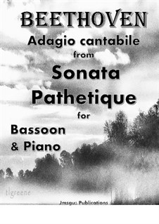 Movement II: For Bassoon & Piano by Ludwig van Beethoven
