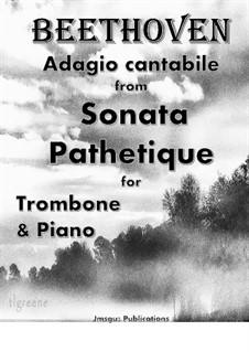 Movement II: For Trombone & Piano by Ludwig van Beethoven