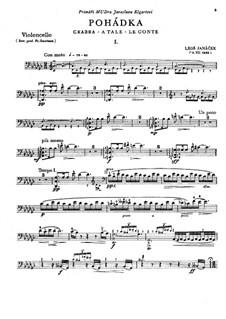 Pohádka (Fairy Tale), JW 7/5: Score and solo part by Leoš Janáček