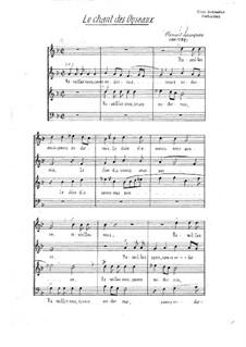 Le chant des oiseaux: For voices by Clément Janequin