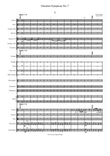 Chamber Symphony No.7: Chamber Symphony No.7 by Jordan Grigg