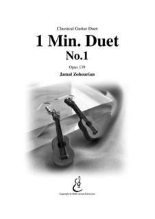 1 Min Duet No.1, Op.139: 1 Min Duet No.1 by Jamal Zohourian