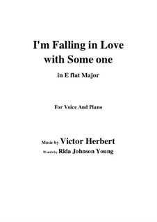 I'm Falling in Love with Someone: E flat Major by Victor Herbert