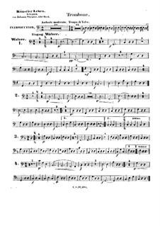 Artist's Life, Op.316: Trombone part by Johann Strauss (Sohn)