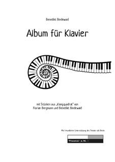 Album für Klavier, Op.23: Complete set by Florian Bergmann, Benedikt Bindewald
