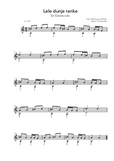 Lele dunje ranke: Lele dunje ranke by folklore