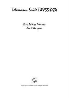 Suite – Wind Quintet: Suite – Wind Quintet by Georg Philipp Telemann
