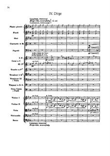 Suite for Orchestra No.2 'Indian', Op.48: Movement IV 'Dirge' by Edward MacDowell