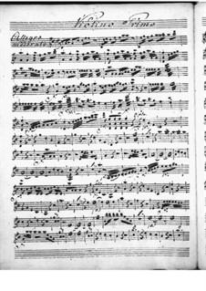 Harpsichord Concerto in D Major: Violin I part by Niccolò Jommelli