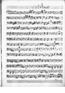 Harpsichord Concerto in D Major: Cello part by Niccolò Jommelli