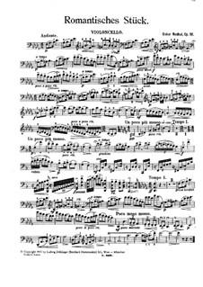 Romantic Piece for Cello and Piano, Op.18: Romantic Piece for Cello and Piano by Oskar Nedbal