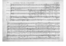 Hear, o Heav'ns for Voices and Organ (or Piano): Hear, o Heav'ns for Voices and Organ (or Piano) by Joseph Nicholds