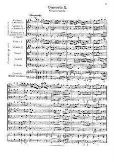 Concerto No.10 in G Major 'Perseverantia': Concerto No.10 in G Major 'Perseverantia' by Georg Muffat