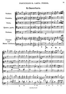 Florilegium Secundum: Movement II, (No.8-14 by Georg Muffat
