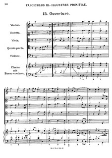Florilegium Secundum: Movement III, No.15-23 by Georg Muffat