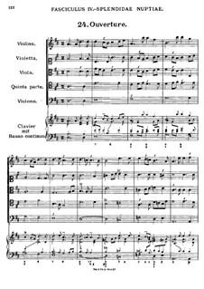 Florilegium Secundum: Movement VI, No.24-30 by Georg Muffat