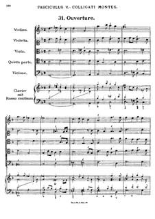 Florilegium Secundum: Movement V, No.31-38 by Georg Muffat