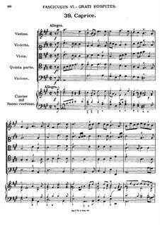 Florilegium Secundum: Movement VI, No.39-45 by Georg Muffat