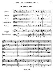 Florilegium Secundum: Movement VII, No.46-53 by Georg Muffat