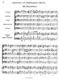 Florilegium Secundum: Movement VIII, No.54-62 by Georg Muffat