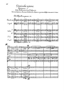 Fragments: Act III by Modest Mussorgsky