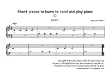 Learn Piano in 46 Short Lessons: Learn Piano in 46 Short Lessons by Marcello Palace