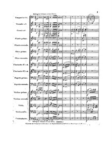 Complete Symphony: Score by Ludwig van Beethoven