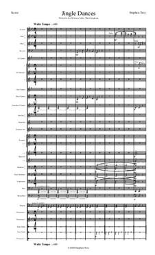 Jingle Dances (Score and Parts): Jingle Dances (Score and Parts) by Stephen Troy