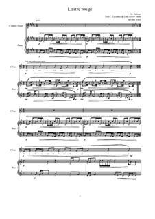 5 songs based on the lyrics of C. Leconte de Lisle: No.4, MVWV 1410 by Maurice Verheul