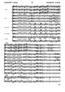 Full score: Full score by Johann Sebastian Bach