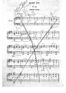 Barbe-bleue (Bluebeard): Act III, for voices and piano by Jacques Offenbach