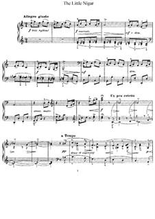 Le petit nègre (The Little Negro), L.114: For piano by Claude Debussy