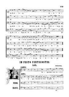 Loquebantur variis linguis Apostoli: Loquebantur variis linguis Apostoli by Giovanni da Palestrina