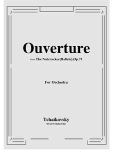 Fragments: Ouverture by Pyotr Tchaikovsky