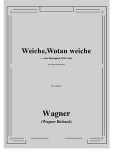 The Rhine Gold, WWV 86a: Weiche, Wotan weiche (c minor) by Richard Wagner