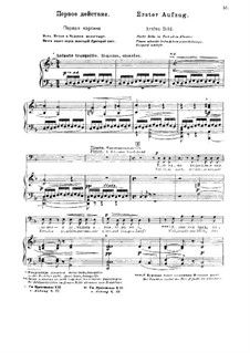 Fragments: Act I. Version for voices and piano by Modest Mussorgsky