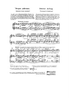 Fragments: Act II. Version for voices and piano by Modest Mussorgsky