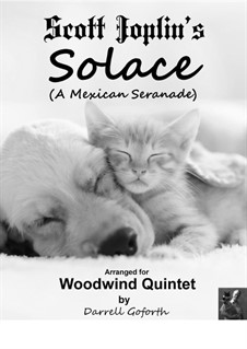 Solace: For woodwind quintet by Scott Joplin