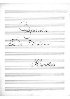 Geneviève de Brabant: Oboe part by Jacques Offenbach